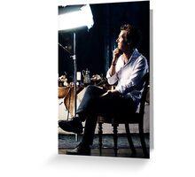 The Thinker - Benedict Cumberbatch Greeting Card