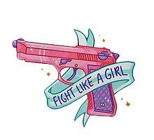 fight like a girl by arkhamscity