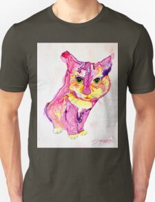 Cat Eyes Abstract by Deb Breton Unisex T-Shirt