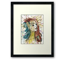Natural Fashion // Rings Framed Print