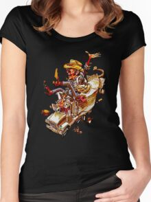 Jerry and the Bandit. Awesome mashup. Women's Fitted Scoop T-Shirt