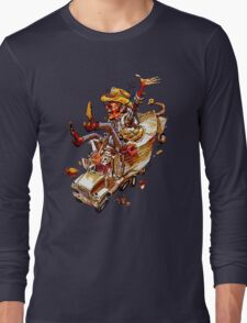 Jerry and the Bandit. Awesome mashup. Long Sleeve T-Shirt