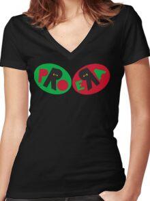Pro Era Logo Tee Women's Fitted V-Neck T-Shirt