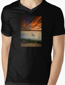 For Just This One Moment Mens V-Neck T-Shirt