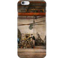 Steampunk - In an old clock shop 1866 iPhone Case/Skin