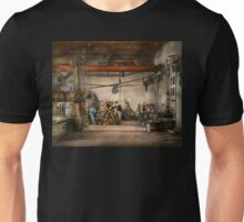 Steampunk - In an old clock shop 1866 Unisex T-Shirt