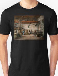 Steampunk - In an old clock shop 1866 T-Shirt