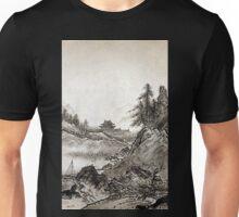 Sesshū Tōyō Autumn Landscape Unisex T-Shirt