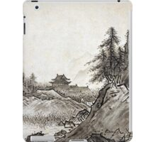 Sesshū Tōyō Autumn Landscape iPad Case/Skin