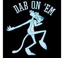 Dab On 'Em Panther Photographic Print