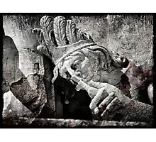 Deathly Kiss Photographic Print