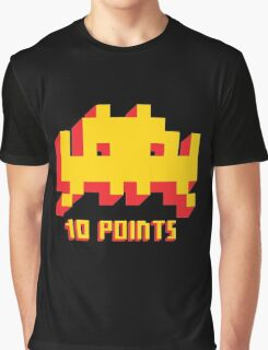 Space Invaders 10 Points Graphic T-Shirt