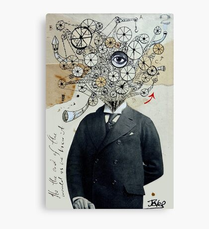 mr mechanoid Canvas Print