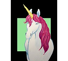 The Mythical Magical Unicorn Photographic Print