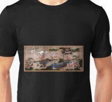 Kanō Hideyori Maple Viewers Unisex T-Shirt