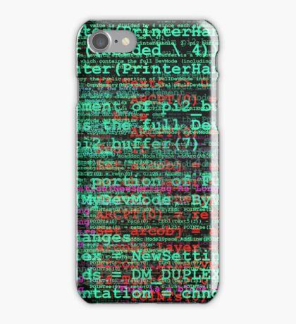 Basic Language iPhone Case/Skin