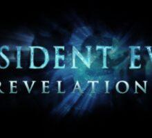 Resident Evil Relelations Sticker