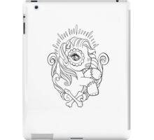 Day of the Dead Pony iPad Case/Skin