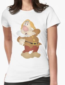 Sneezy Womens Fitted T-Shirt