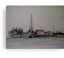 Port Clyde Canvas Print