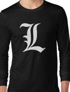 L - version 2 - white Long Sleeve T-Shirt
