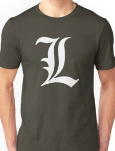 L - version 2 - white Unisex T-Shirt