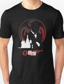 007  Spectre logo From Russia With Love T-Shirt