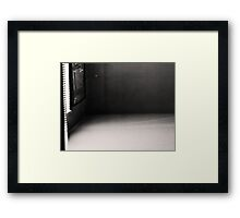 Angels and Light IV and the room i sit Framed Print