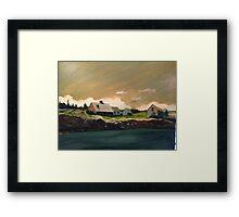 Maine coast Framed Print