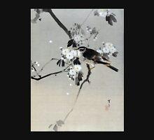 Watanabe Seitei Bird on a Flowering Branch Unisex T-Shirt