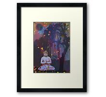 The Buddha Tree Framed Print