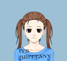 """Official """"Its Brittany"""" Logo Unisex T-Shirt"""