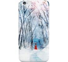 February Snow iPhone Case/Skin
