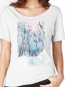 February Snow Women's Relaxed Fit T-Shirt