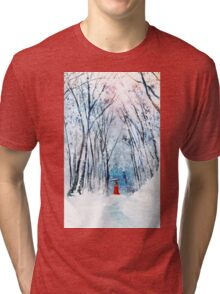 February Snow Tri-blend T-Shirt