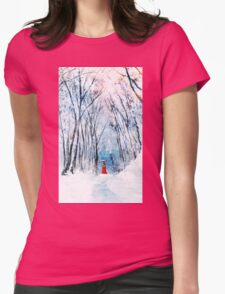 February Snow Womens Fitted T-Shirt