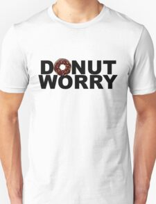 Donut worry - version 2 - black T-Shirt
