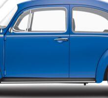 1973 Volkswagen Super Beetle - Biscay Blue Sticker