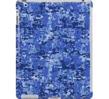 Bluer than Blue Paintball Digital Camouflage iPad Case/Skin