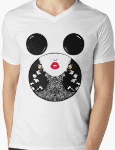 Edgy Girl Mens V-Neck T-Shirt