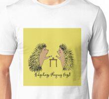 Hedgehogs Playing Pogs  Unisex T-Shirt