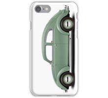 1951 Volkswagen Beetle - Pastel Green iPhone Case/Skin