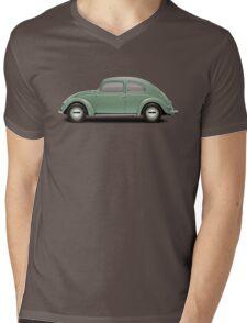 1951 Volkswagen Beetle - Pastel Green Mens V-Neck T-Shirt