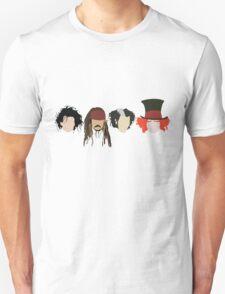 Johnny Depp - Characters Unisex T-Shirt