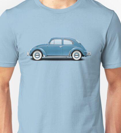 1961 Volkswagen Beetle - Gulf Blue Unisex T-Shirt