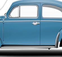 1961 Volkswagen Beetle - Gulf Blue Sticker