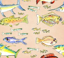 Fishes 2 by LittleBirds