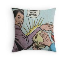 Horror Comic  Throw Pillow