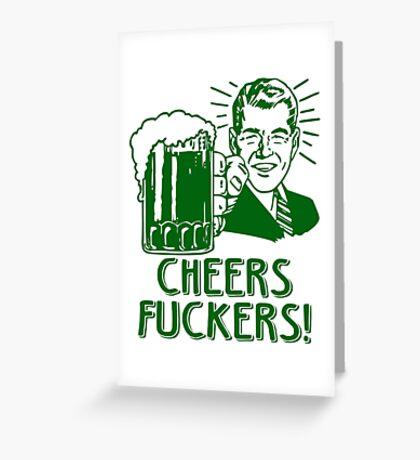 Irish Cheers For Saint Patricks Day Greeting Card