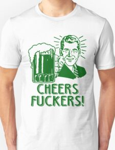 Irish Cheers For Saint Patricks Day Unisex T-Shirt